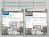 Assessment overview: Contacts and attachments